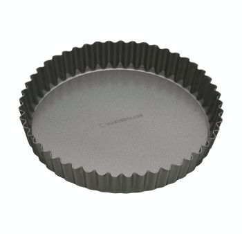 KitchenCraft MasterClass Non-Stick 25cm Loose Base Quiche Tin