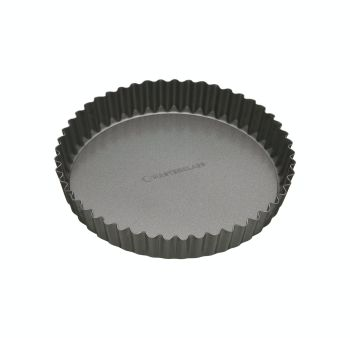 KitchenCraft MasterClass Non-Stick 20cm Loose Base Quiche Tin