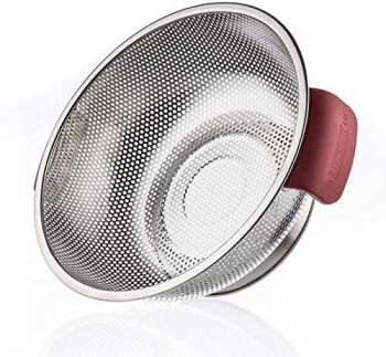 Bakehouse & Co Stainless Steel and Silicone Colander