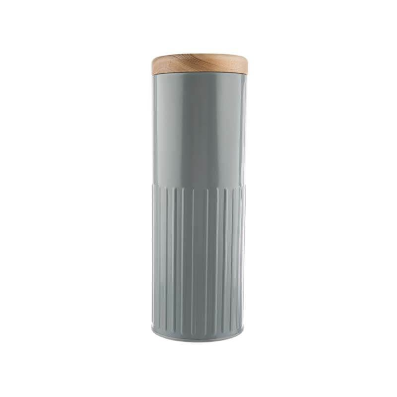 Bakehouse & Co Tall Storage Canister Grey
