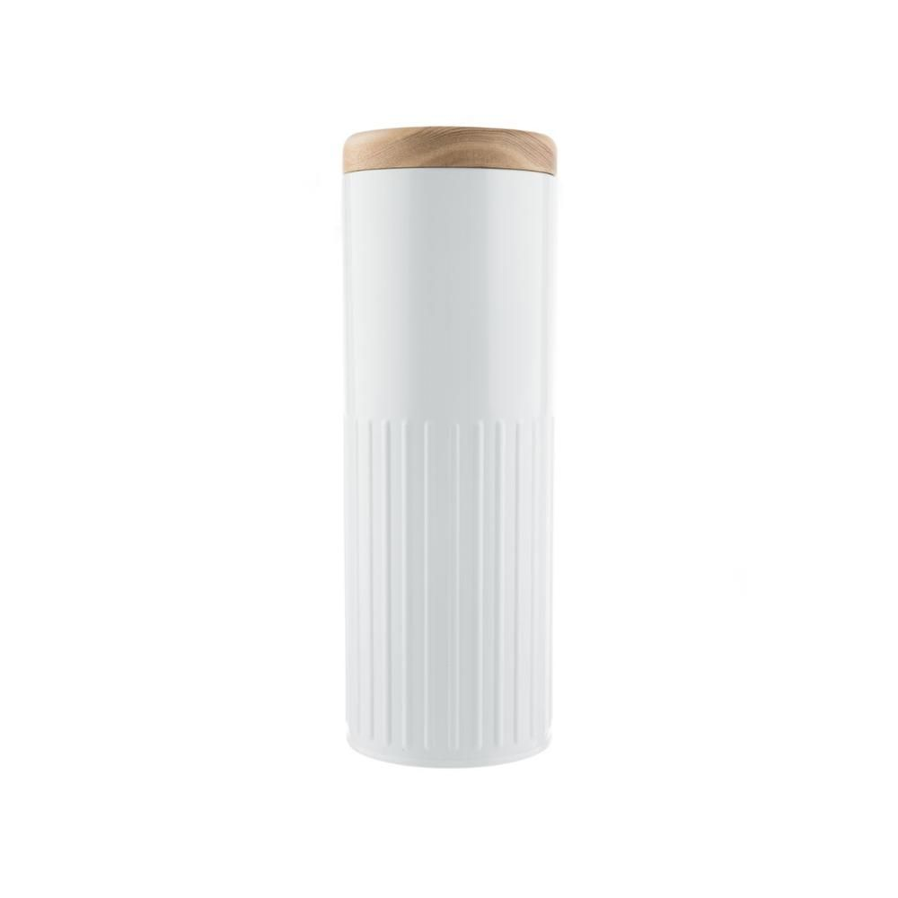 Bakehouse & Co Tall Storage Canister White