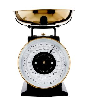 Kitchen Pantry 5KG Brass Mechanical Weighing Scales