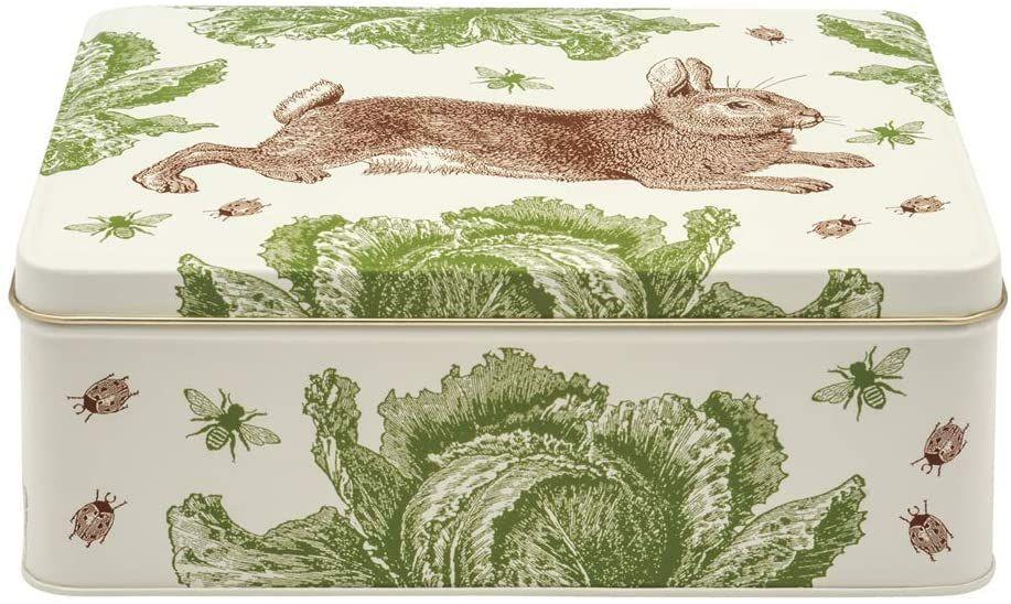 Thornback & Peel Rabbit and Cabbage Rectangular Storage Tin