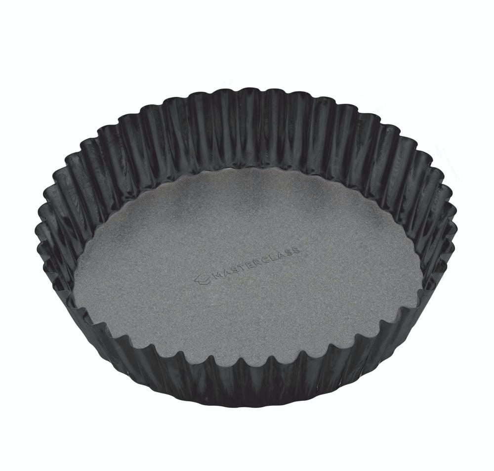 KitchenCraft MasterClass Non-Stick Extra Deep Fluted Flan Tin