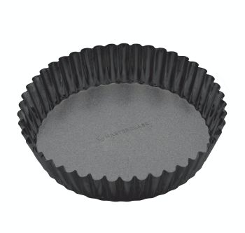 KitchenCraft MasterClass Non-Stick Extra Deep Fluted Flan Tin