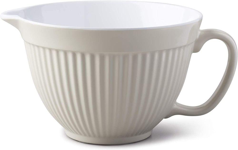 Zeal Classic Melamine Mixing Bowl/ Jug Cream