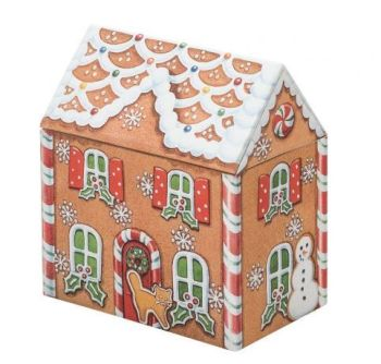 Dana Kubick Gingerbread House Storage Tin