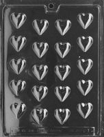 Bite Sized Chocolate Hearts Mould