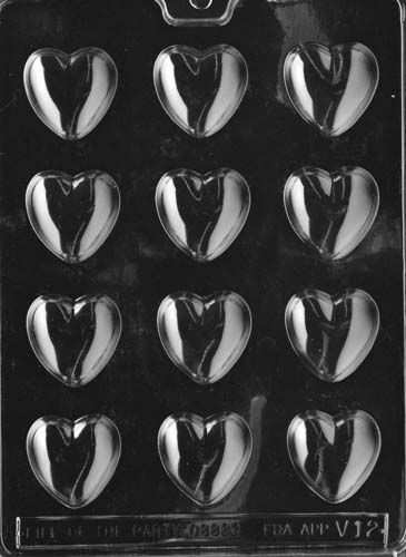 Medium Sized Chocolate Hearts Mould