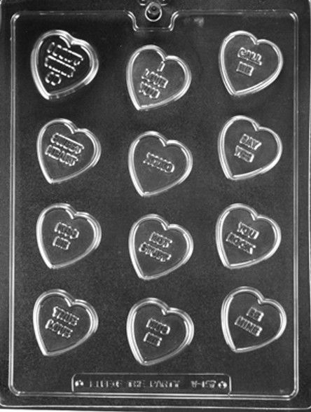 Love Hearts Small Heart Chocolate Mould
