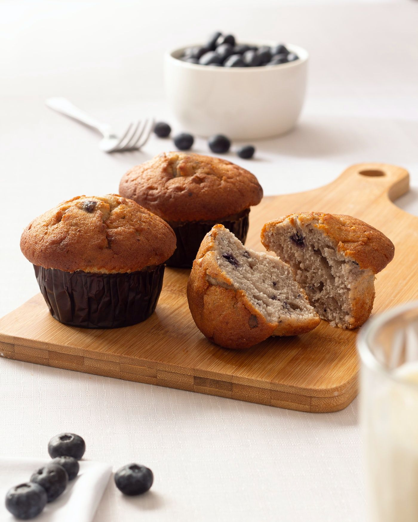 Super Simple Blueberry Muffins