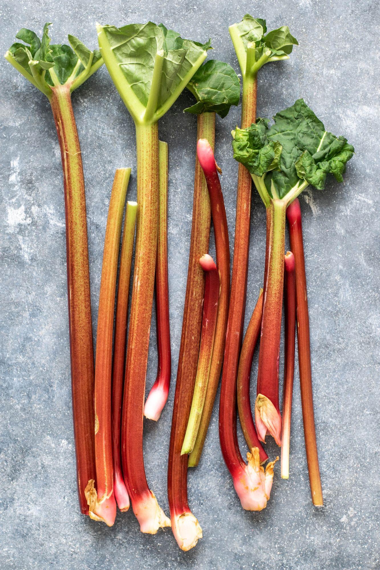 Rhubard February Seasonal Vegetables