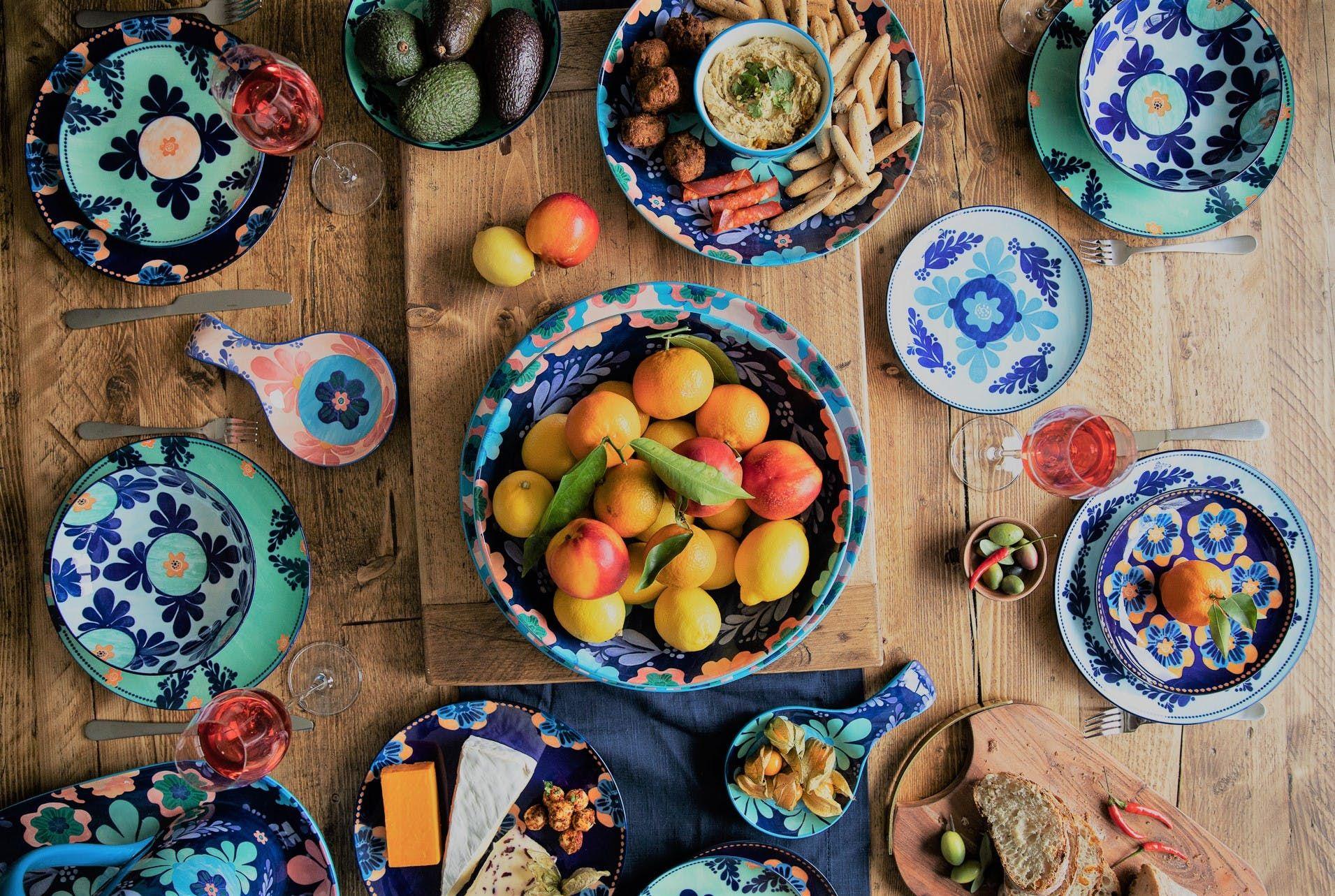 Bright Ceramic Kitchenware