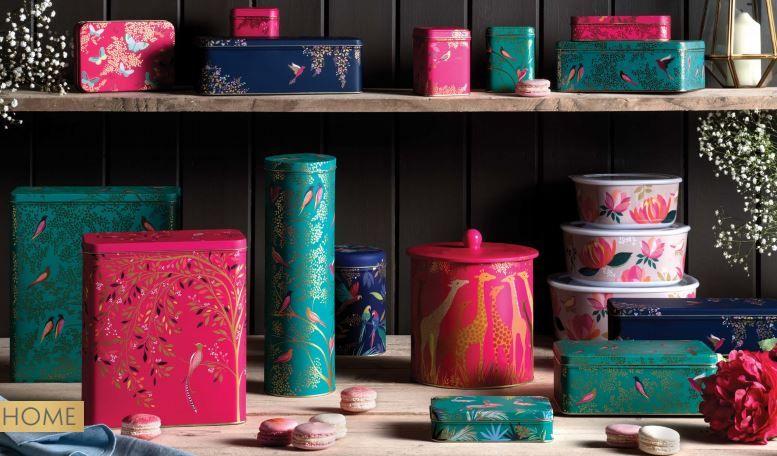 Sara Miller London Kitchen Storage