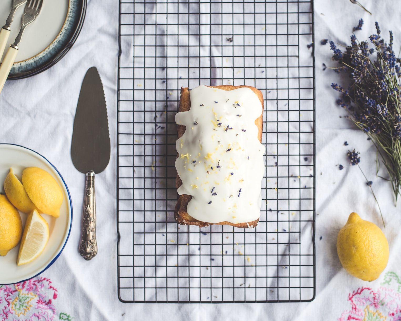 Lavender and Lemon Loaf Cake
