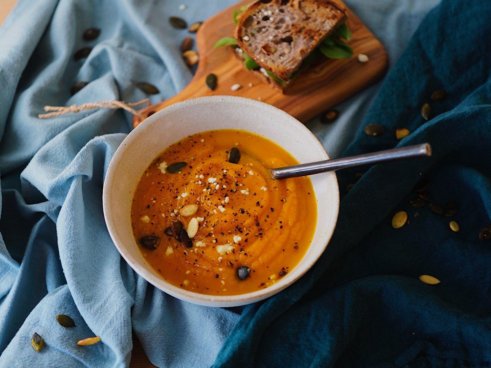 Warming Butternut Squash Soup