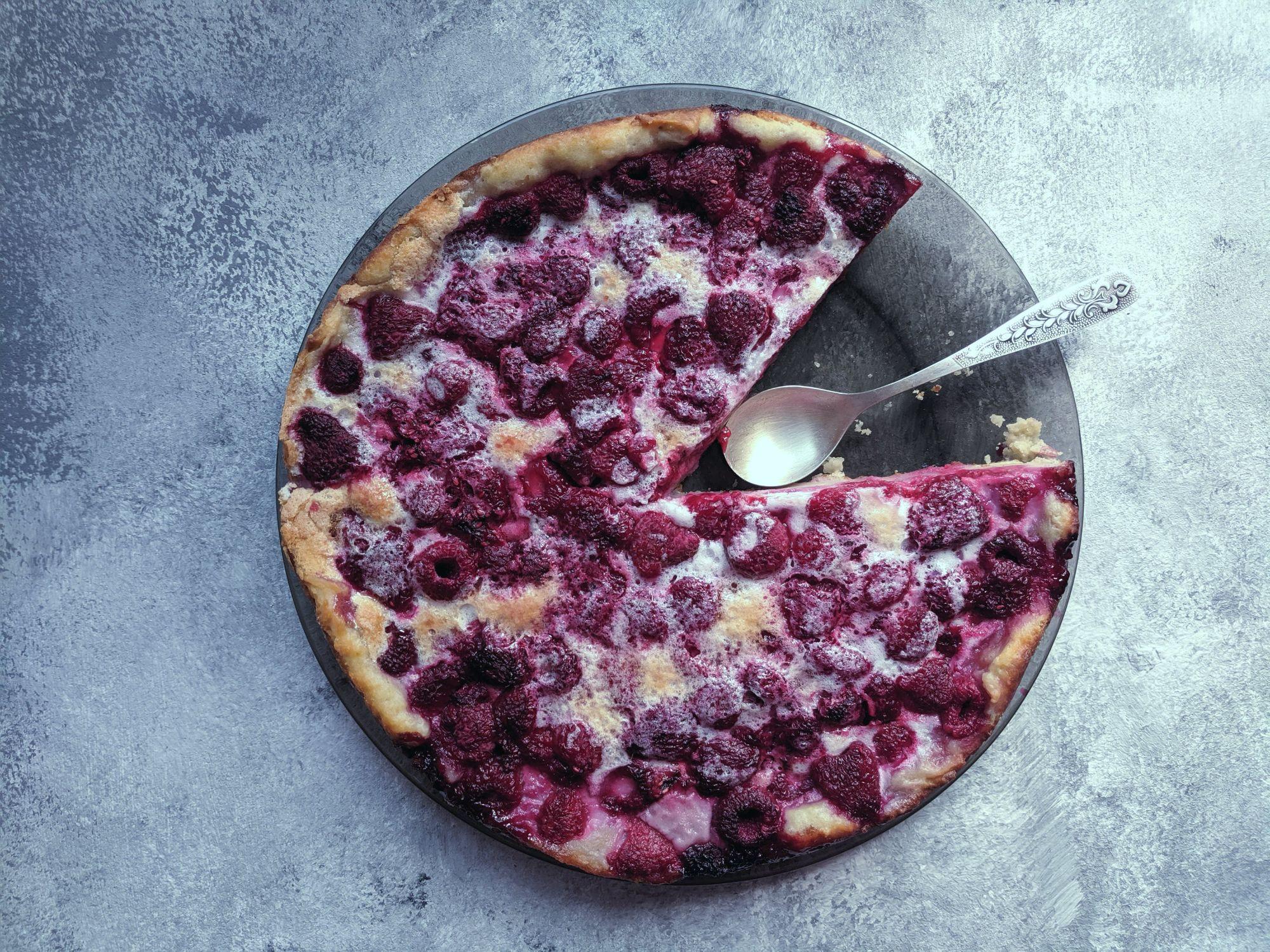 Fruity Raspberry Clafoutis Recipe
