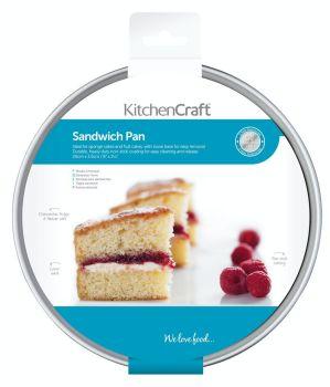 KitchenCraft Non-Stick 8 Inch Loose Base Sandwich Pan