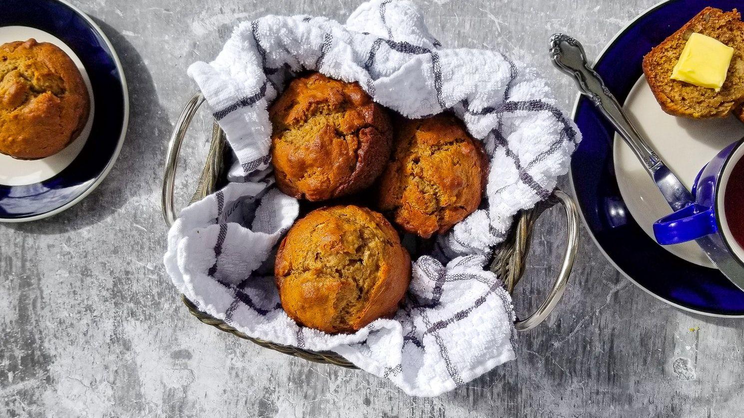 Homemade Breakfast Muffins
