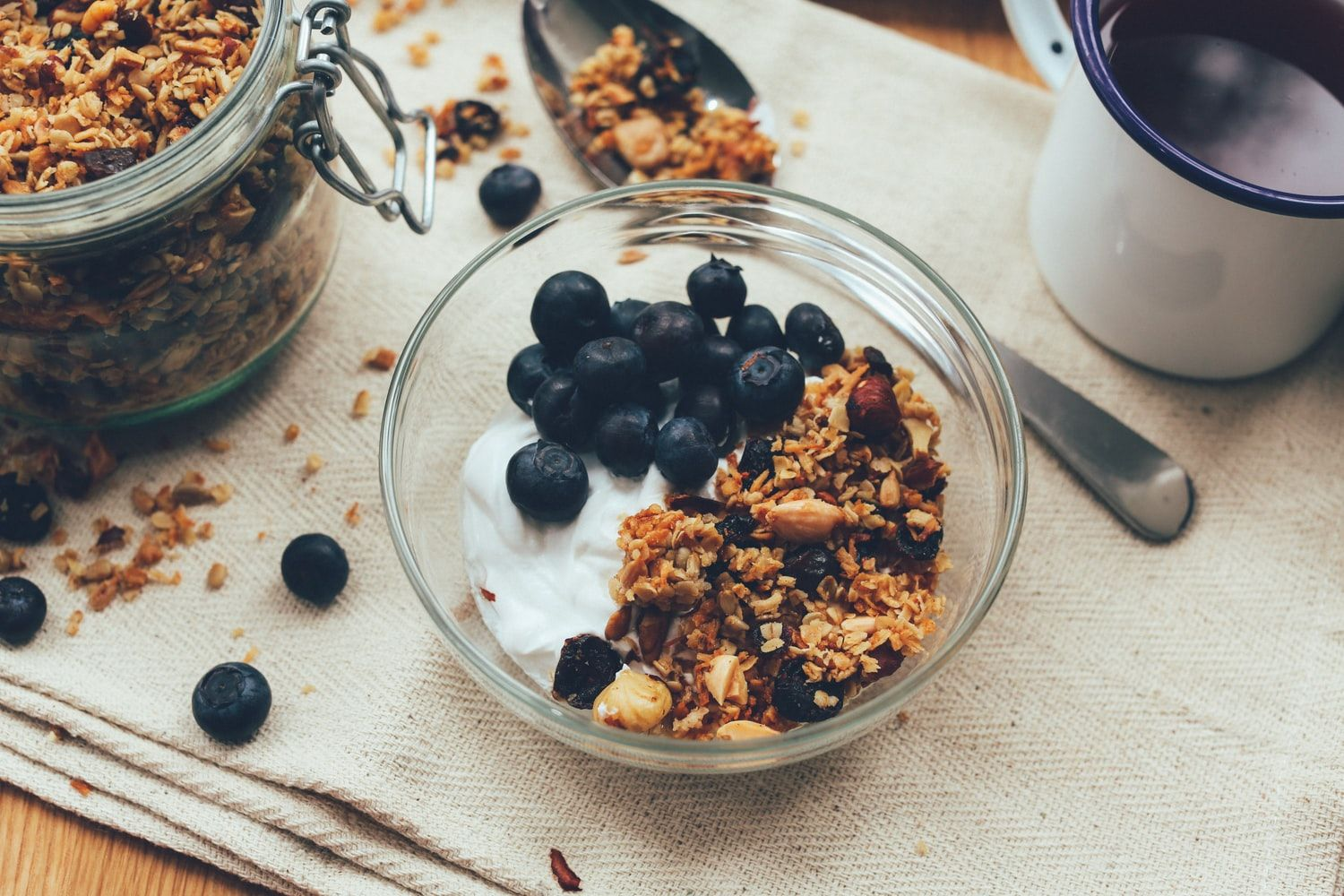 Get Up and Go Granola