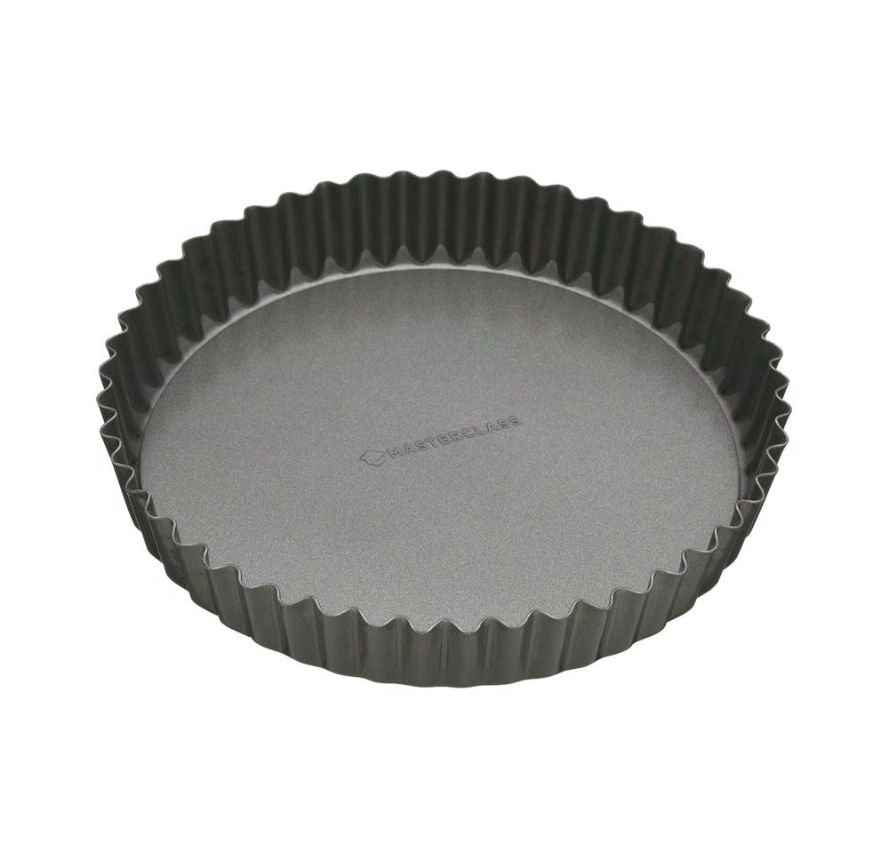 KitchenCraft MasterClass Non-Stick 23cm Loose Base Quiche Tin