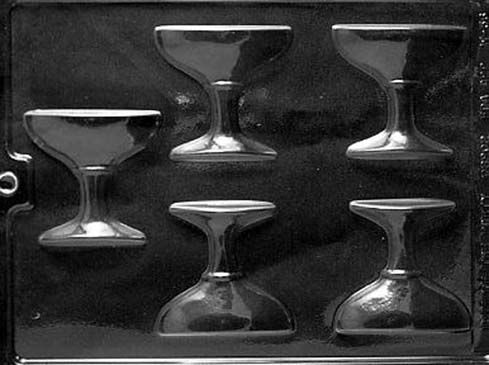 Champagne/ Cocktail Glass Chocolate Mould