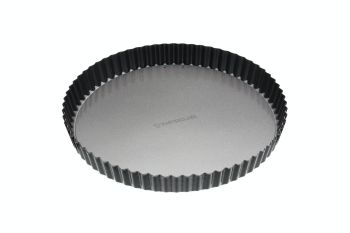 KitchenCraft MasterClass Non-Stick 28cm Loose Base Quiche Tin