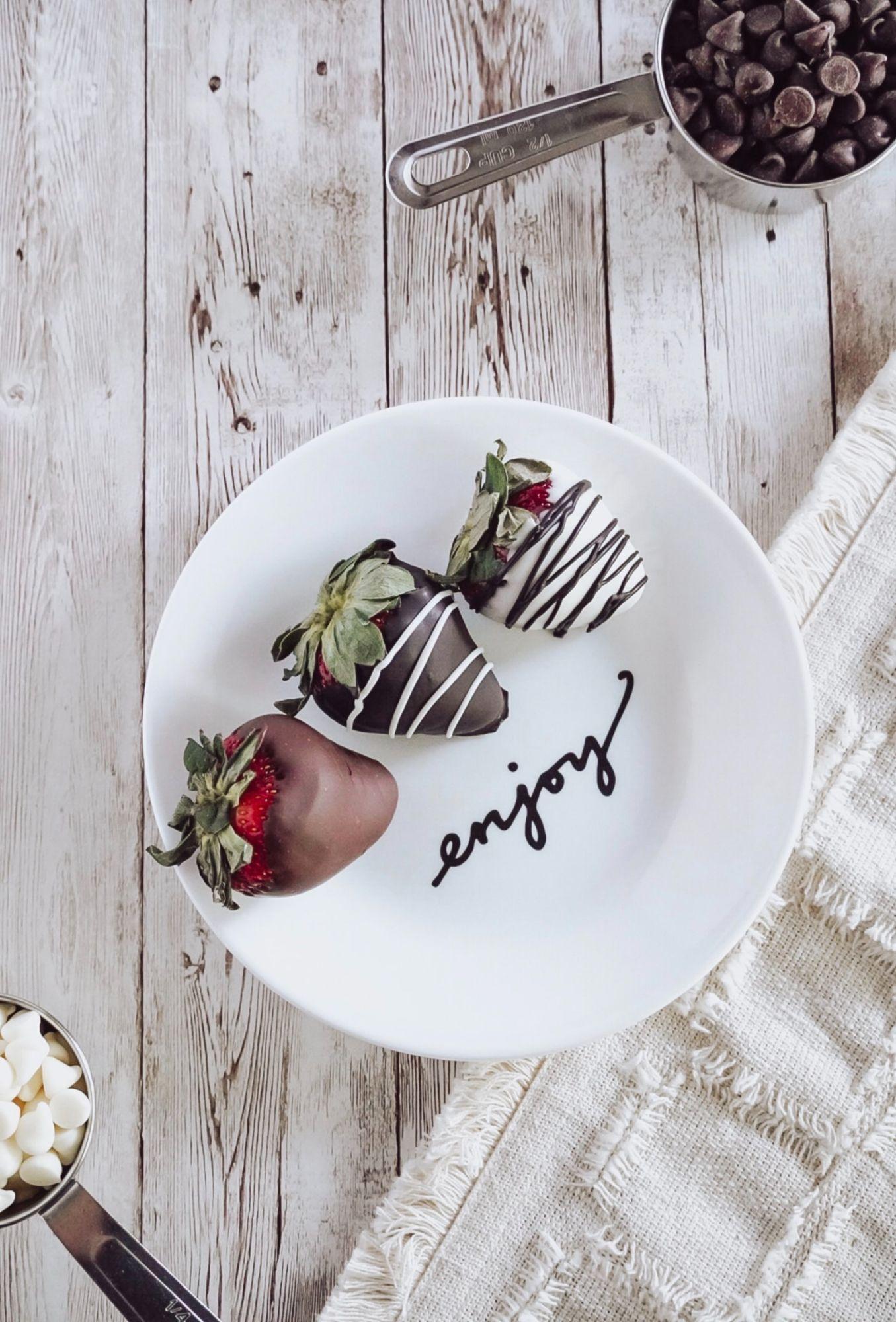Perfect Chocolate Coated Strawberries