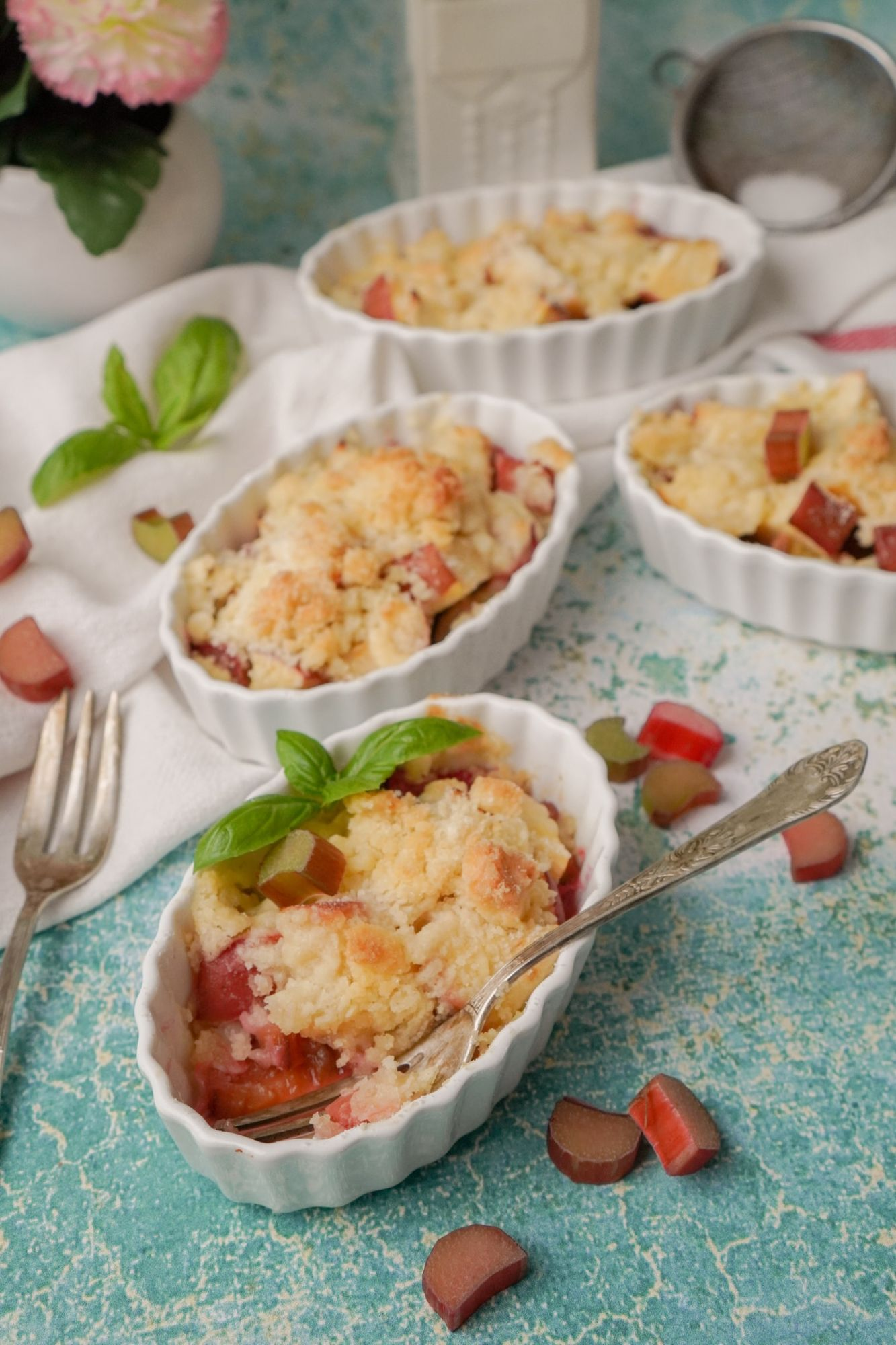 Rhubarb and Ginger Crumble Recipe