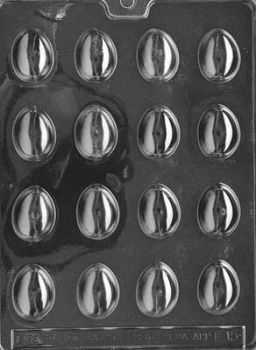 Small Plain Easter Eggs Mould