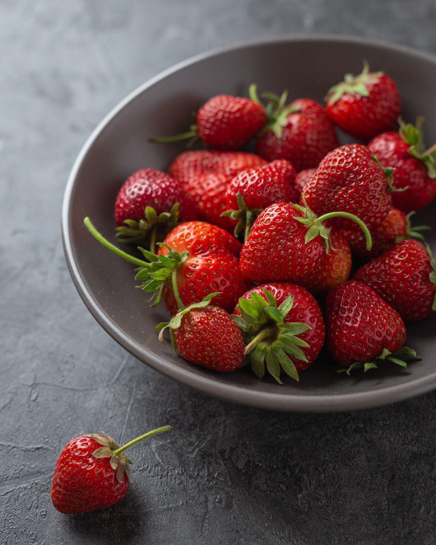Strawberries August What's In Season