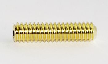 Threaded rod 1/4-20 gold