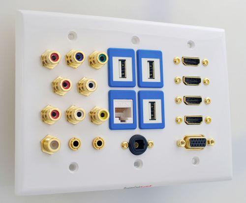 Smart TV Wall Plate