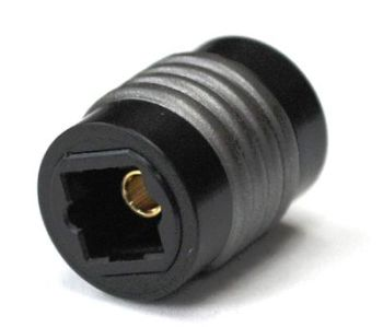 Optical Toslink Coupler, Female to Female #T-FF