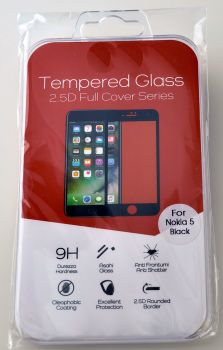 High Quality Tempered Glass Cover for Nokia 5 #TGC-2.5-N5
