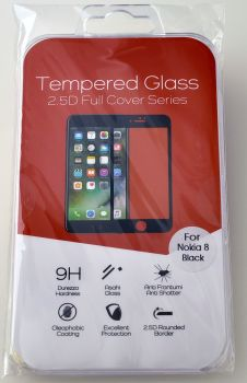 Nokia 8 High Quality Tempered Glass Screen Cover #TGC-2.5-N8