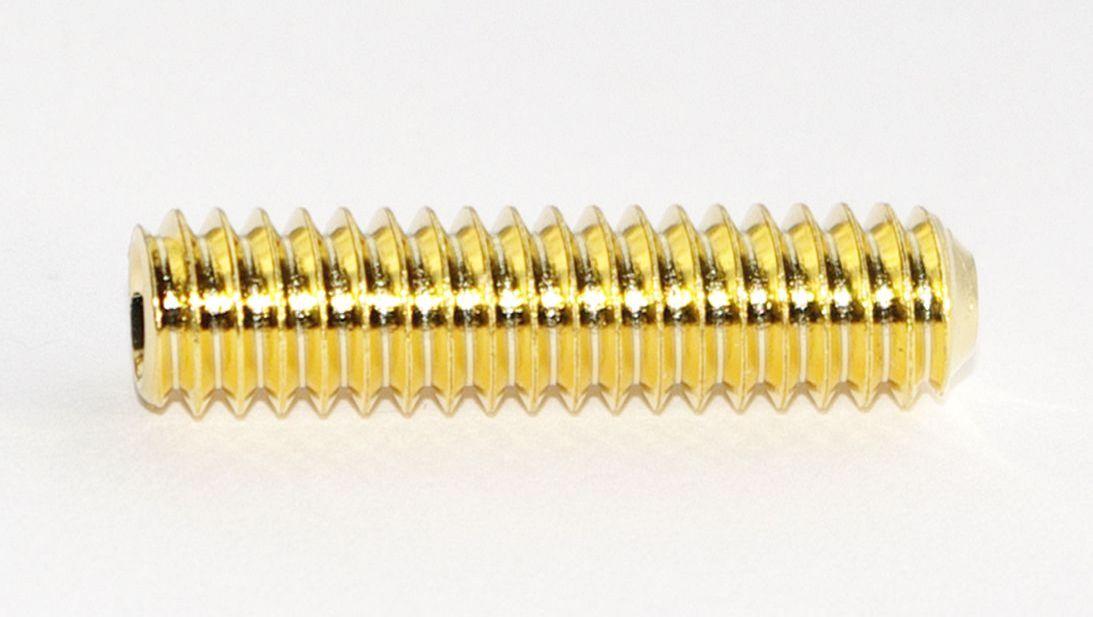 Threaded rod 1420, gold finish #TR1420-G