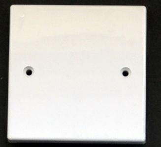Blank wall plate single size (86 x 86)  #UK.01.BLANK