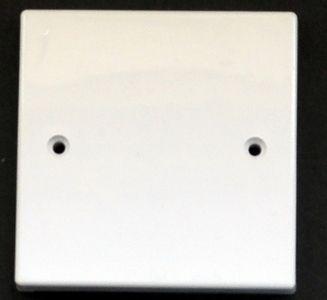 Blank wall plate 86 x 86