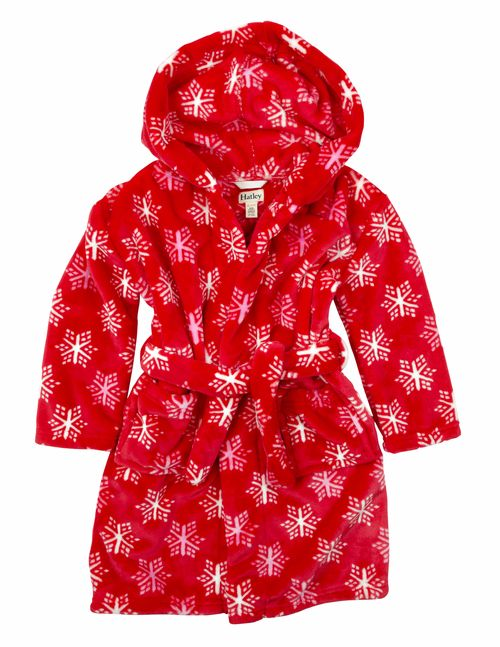 Hatley snowflake dressing gown