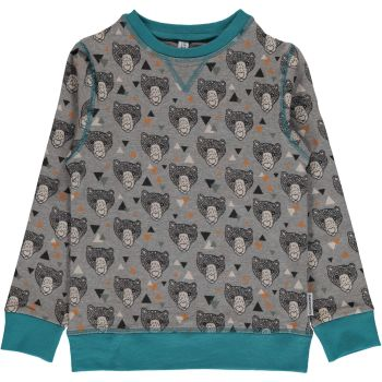 Maxomorra Grizzly bear sweatshirt