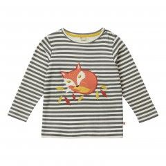 Piccalilly Striped Fox Top