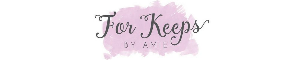 FOR KEEPS, site logo.