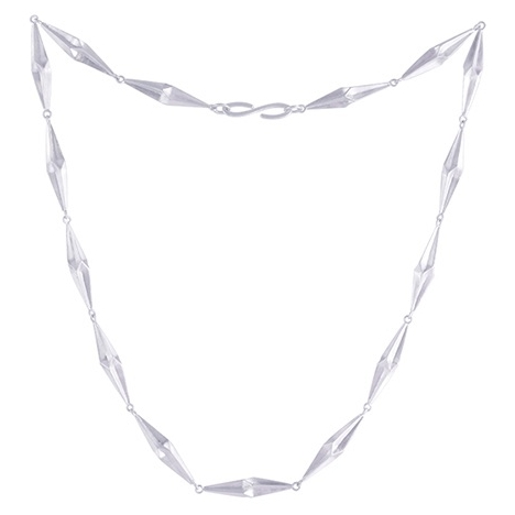 Shard Silver Necklace by Alice Barnes
