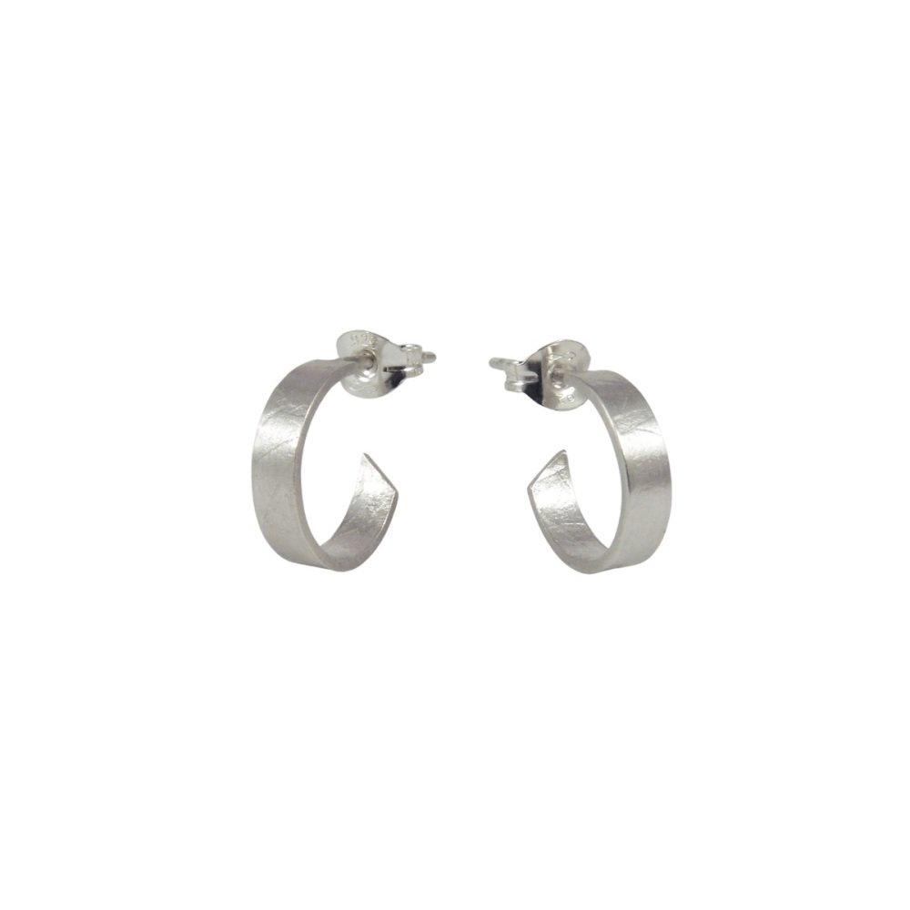 Folded Small Hoops