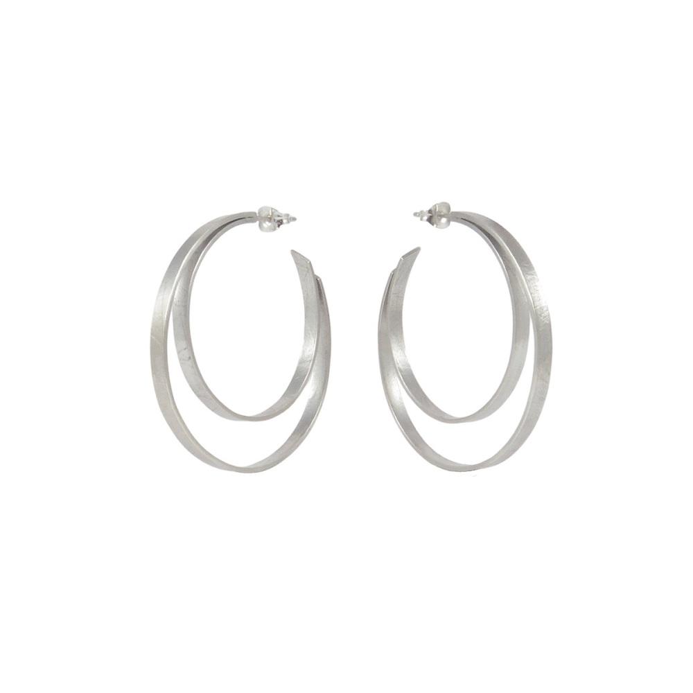 Large Double Hoops by Alice Barnes Jewellery
