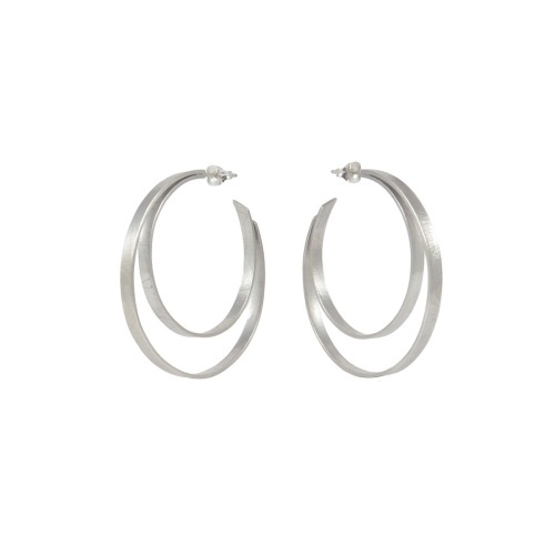 Large Double Hoops by Alice Barnes Jewellery