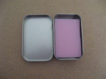 Sls free soap in a tin various fragrances