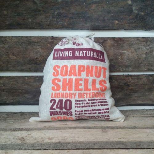 Organic soapnuts