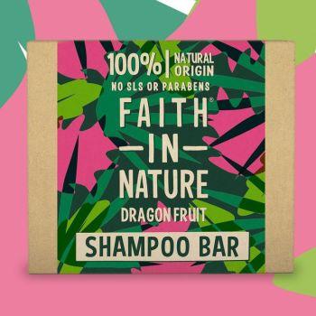 Dragon fruit solid shampoo bar